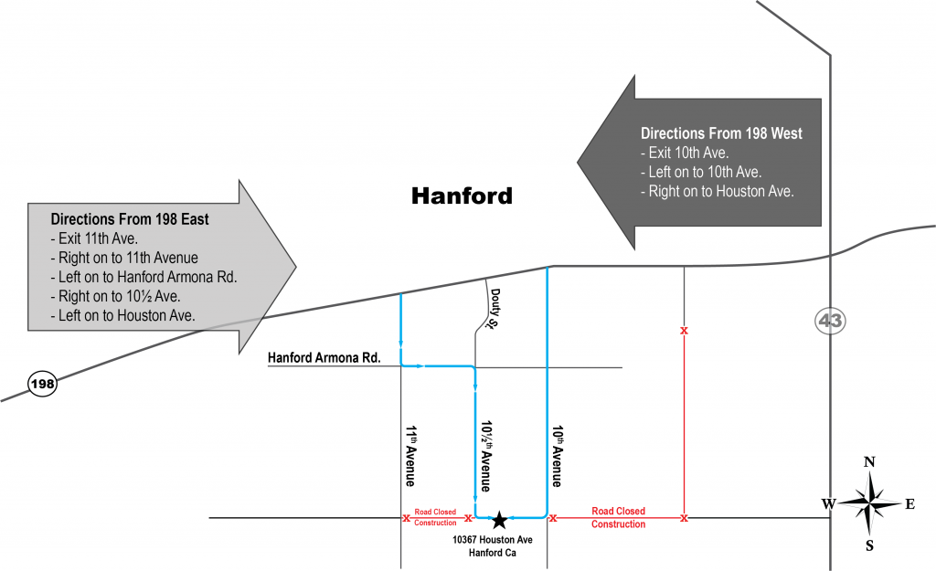 Map to Yard